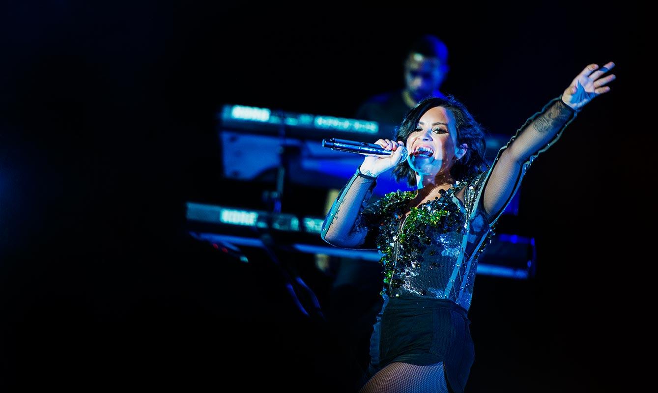 Kambodja har fått besök av Demi Lovato