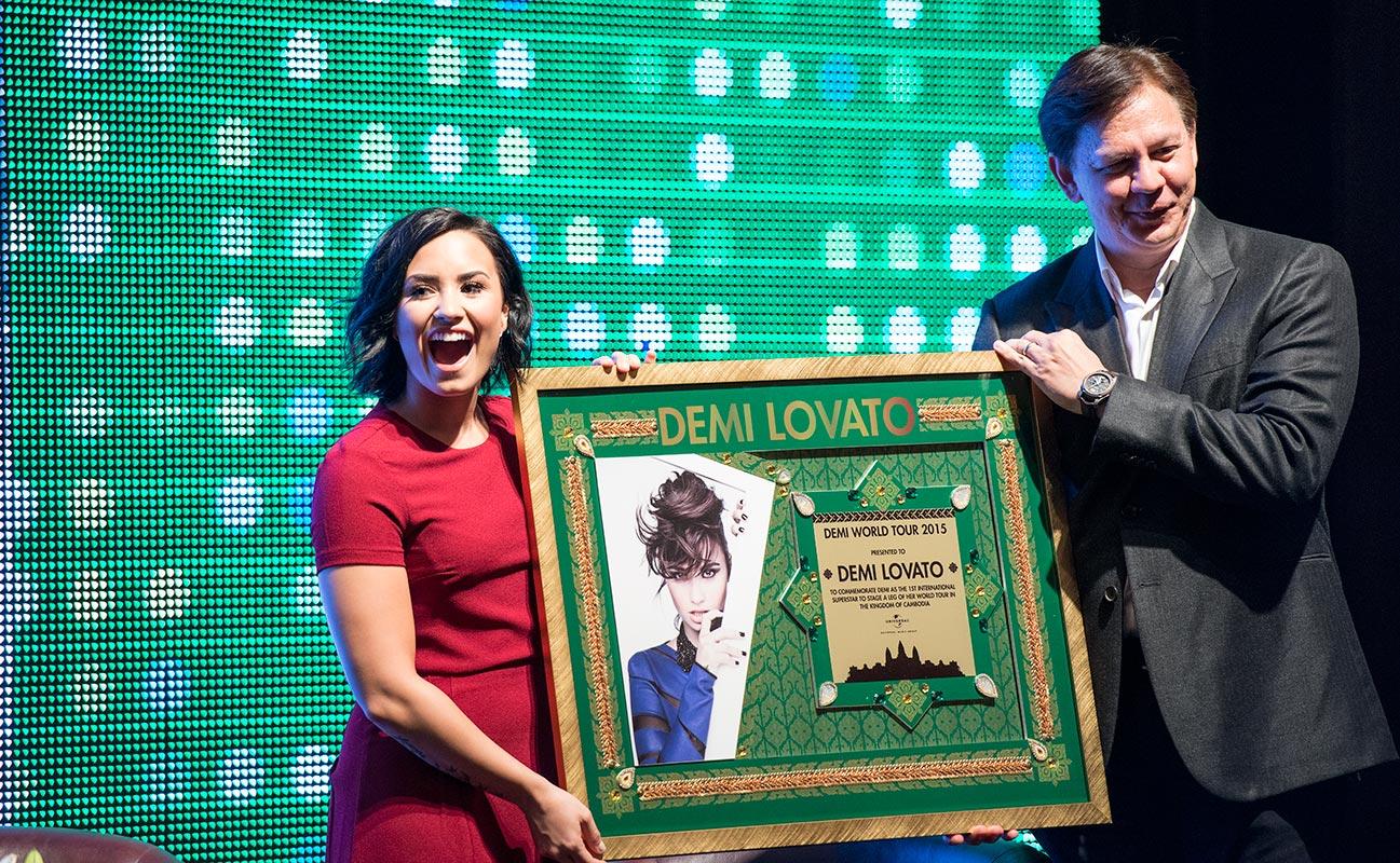 Demi Lovato i Kambodja