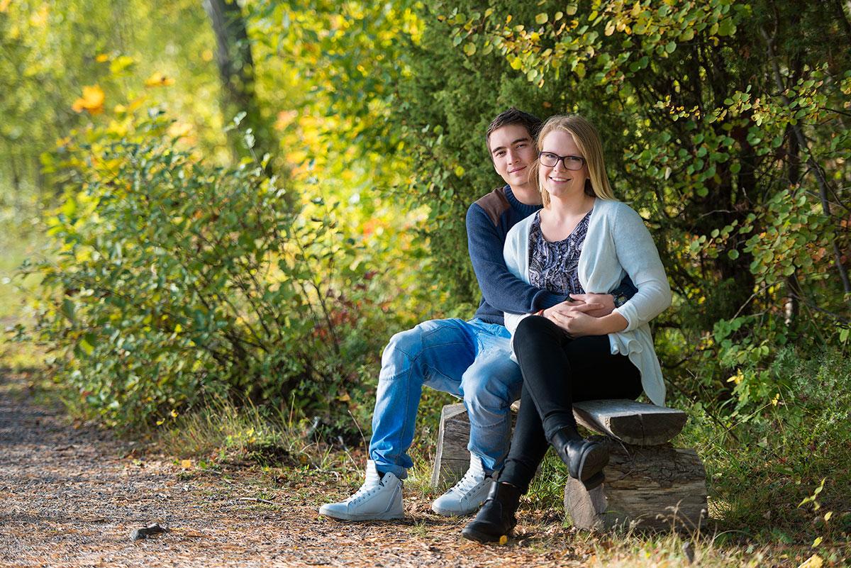 Porträttserie på Emil och Lilja